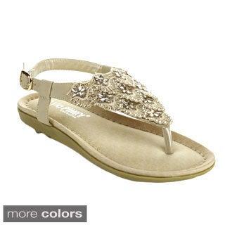 Via Pinky Women's Faye-12 Open Toe Slingback Sandals