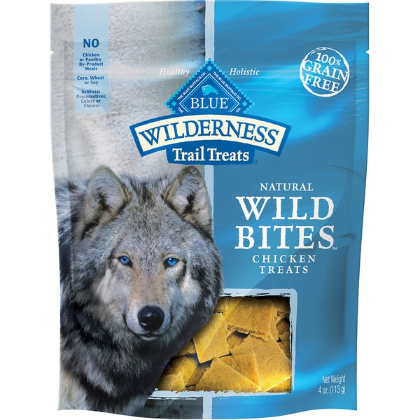 Blue Buffalo Natural Wild Bites Chicken Treats