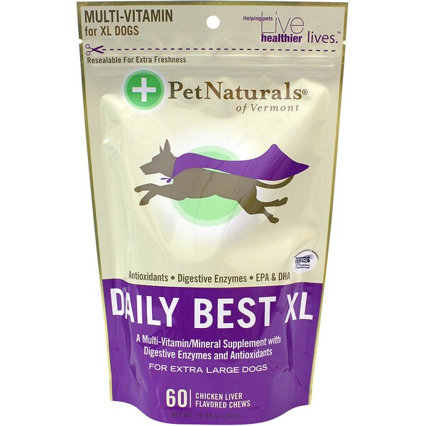 Pet Naturals of Vermont Daily Best XL Dog Chews