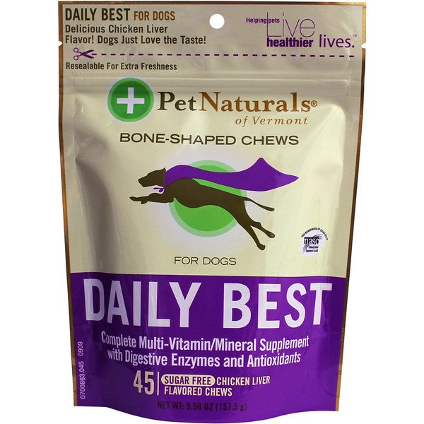 Pet Naturals of Vermont Daily Best for Dog Chews