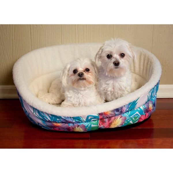 Iconic Pet Standard Plush Foam Pet Beds