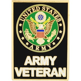 US Army Veteran Large Pin
