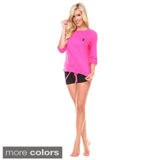 Stanzino Women's Sleepwear Lounge Bottom and Top Pajama Set