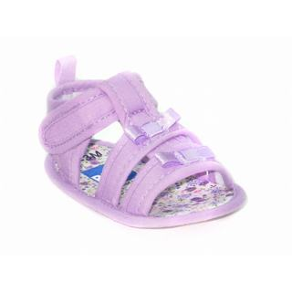 BLUE Baby 'P-Link' Lilac Girls Sandals