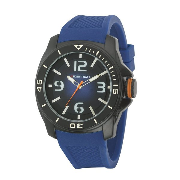 Regimen RW2014 Quartz Analog Watch - Blue & Black