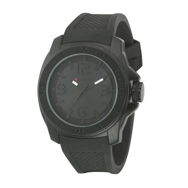 Regimen RW2012 Quartz Analog Watch - Stealth Black