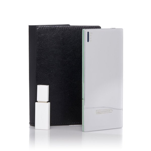 instaCHARGE 3500mAh Portable Device Charger with RFID Wallet Case