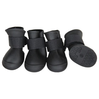 Pet Life All-Terrain Rubberized Dog Shoes
