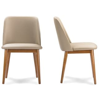Set of 2 Lavin Mid-Century Solid Wood Dining Chair