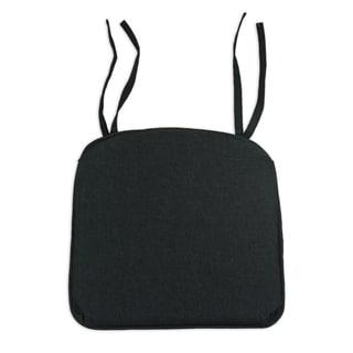 Denim Black S-Backed 17-inch S-Corded PleatedChair Cusion