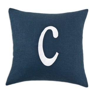 Personalized Initial 12-inch Throw Pillow - 15669119 - Overstock.com Shopping - Great Deals on ...