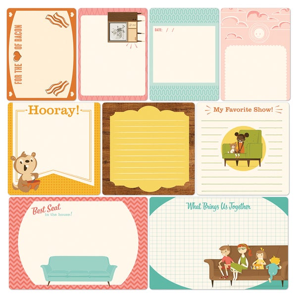 Saturday Mornings Cardstock Memory Card Mix
