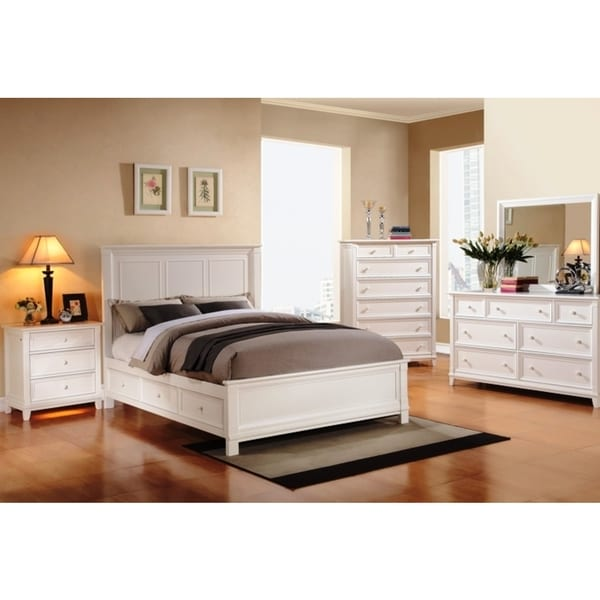 Woodstock California King Storage Bed