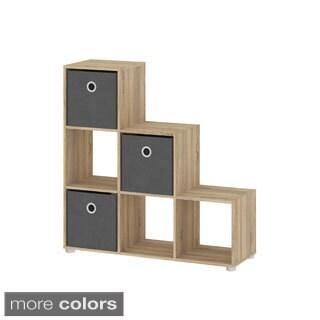 Demi 6-shelf Bookcase