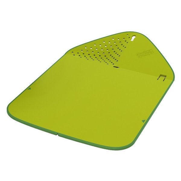 Joseph Joseph Rinse and Chop Cutting Board in Green