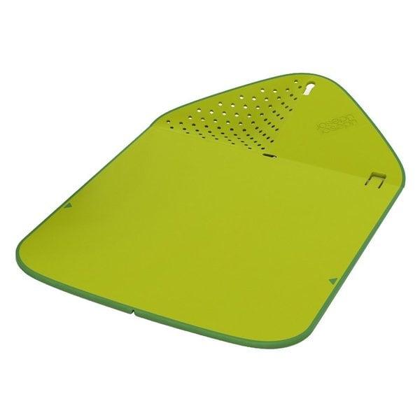 Joseph joseph rinse and chop cutting board in green 17283601 shopping big - The big chop cutting board ...