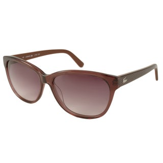 Lacoste Womens L704S Rectangular Sunglasses