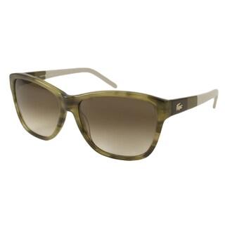 Lacoste Womens L658S Rectangular Sunglasses