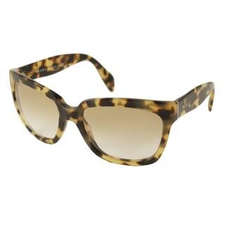 Prada Women's PR07PS Rectangular Sunglasses