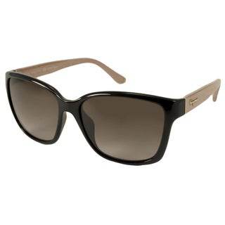 Ferragamo Women's SF716S Rectangular Sunglasses