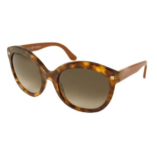 Ferragamo Women's SF677S Rectangular Sunglasses