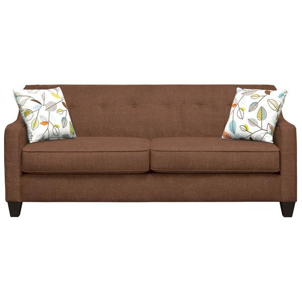Art Van Axis Mink Sofa