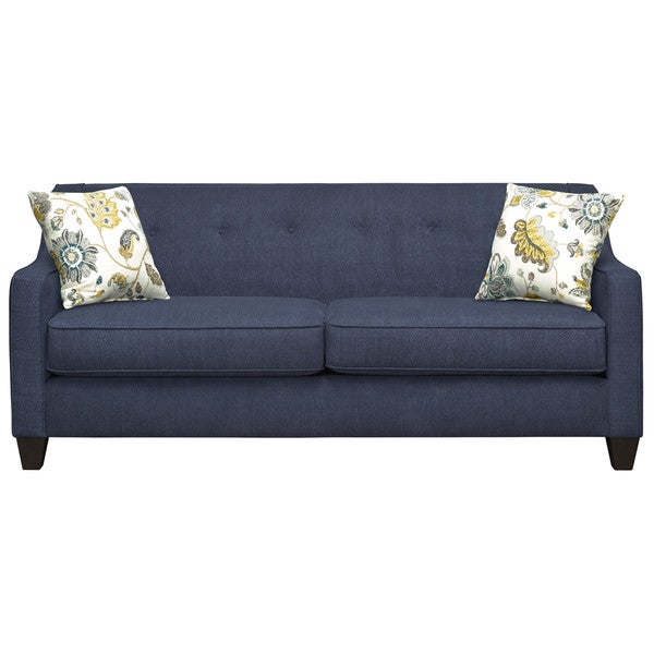 Art Van Axis Navy Sofa