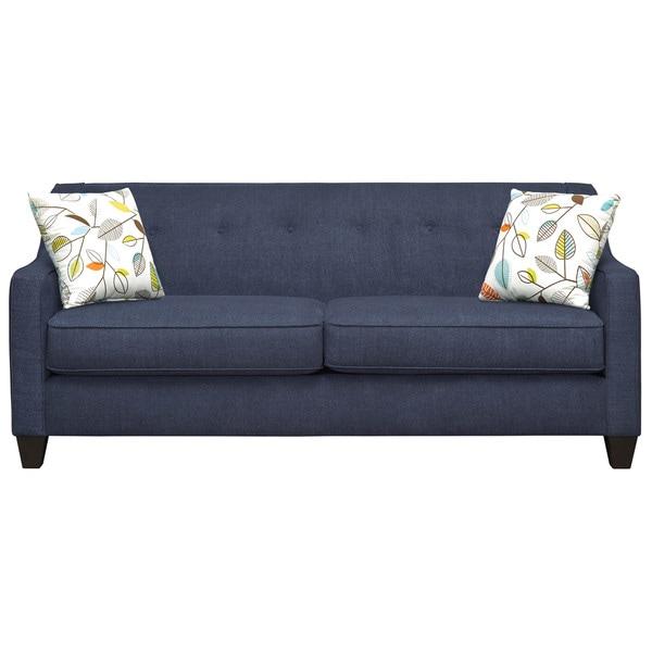 Art Van Axis Navy Sofa