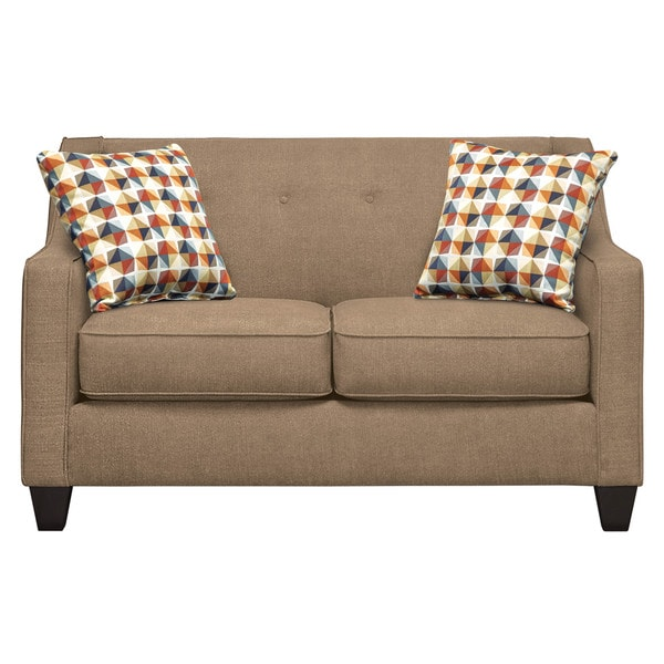 Art Van Axis Taupe Loveseat