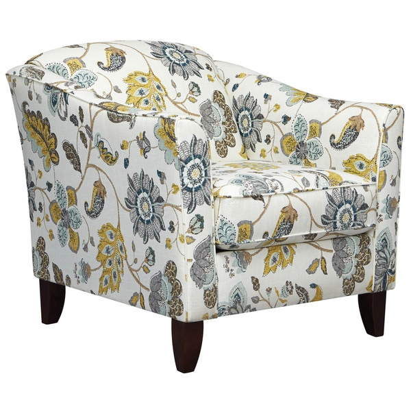 Art Van Accent Chair Floral