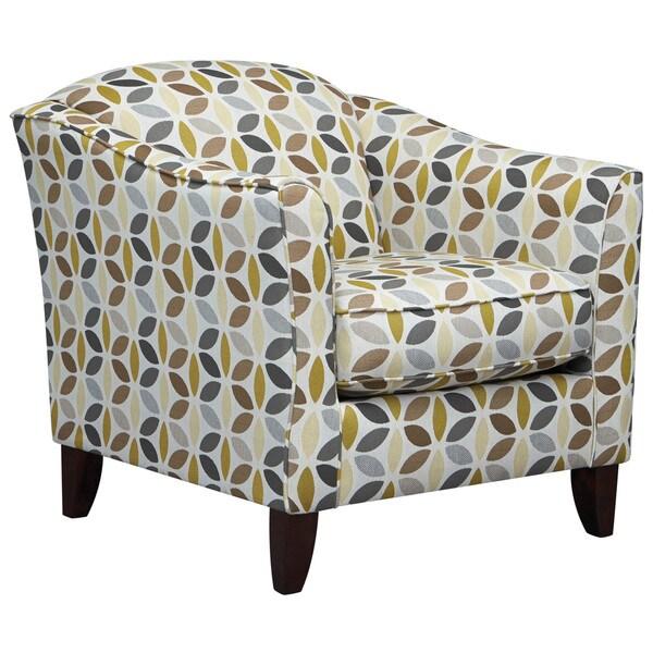 Art Van My Sofa Kaleido Wasabi Accent Chair