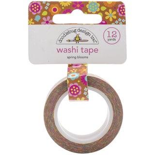 Washi Tape 15mmX12ydSpring Blooms