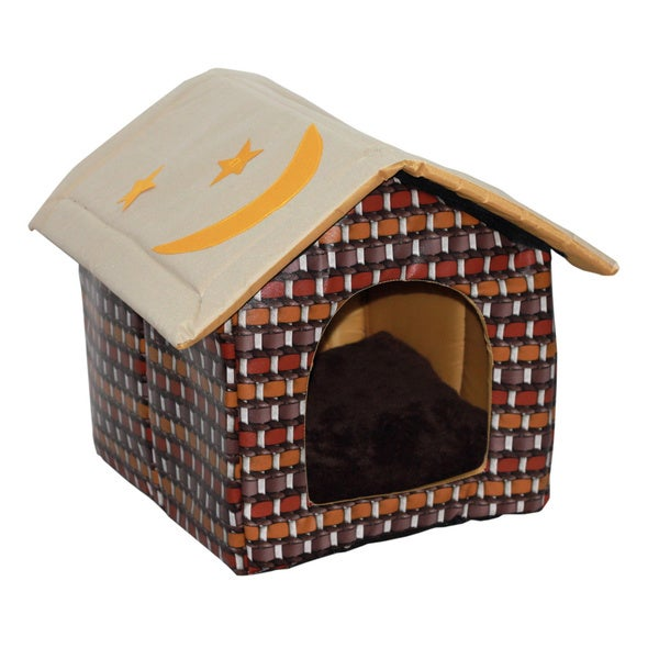 Brick-look Pet House