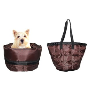 2-in-1 Pet Bag and Bed