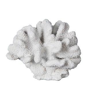 White 11-inch Coral Figurine