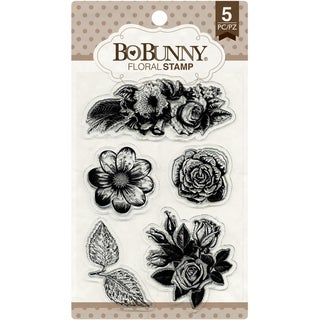 BoBunny Stamps 4inX6inFloral