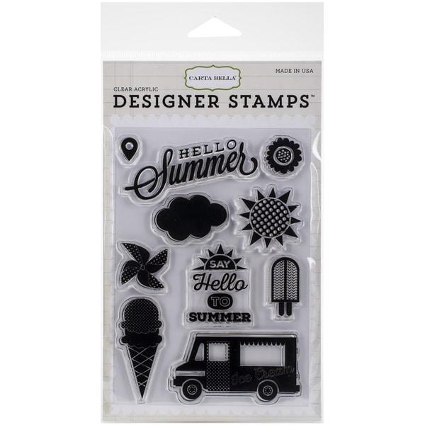 Carta Bella Stamps 4inX6inSoak Up The Sun
