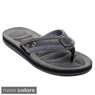 Jeair Men's MS1005 Lightweight Athletic Flip-flops