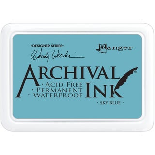Wendy Vecchi Designer Series Archival Ink PadSky Blue