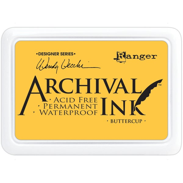 Wendy Vecchi Designer Series Archival Ink PadButtercup
