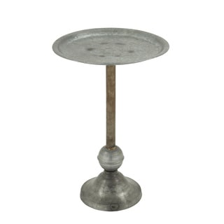 Strong and Stable Metal Accent Table