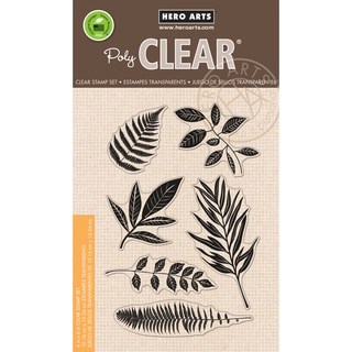 Hero Arts Clear Stamps 4inX6in SheetStamp Your Own Plant