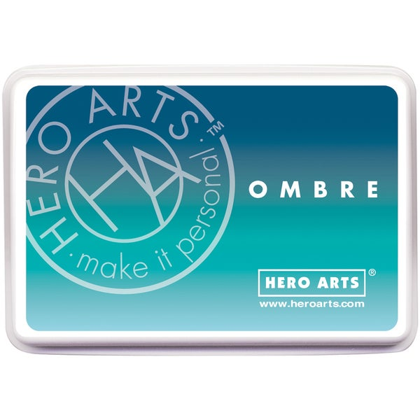 Hero Arts Ombre Ink PadPool To Navy