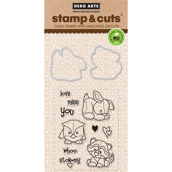 Hero Arts Stamp & CutsBaby Animals