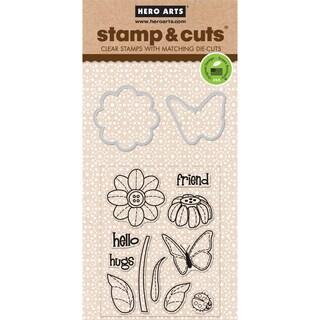 Hero Arts Stamp & CutsButterfly & Flower