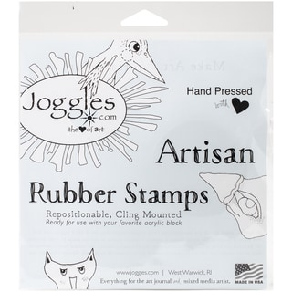 Joggles Cling Stamp 2inX3inBackground NoiseDots