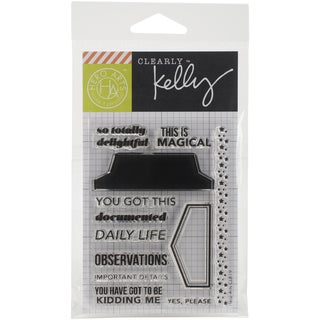 Kelly Purkey Clear Stamps 3inX4in SheetDaily Life