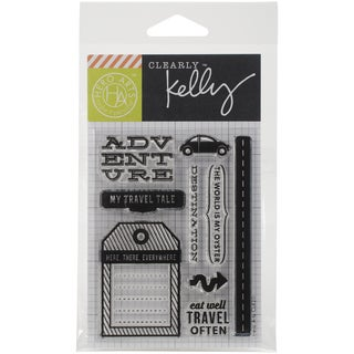 Kelly Purkey Clear Stamps 3inX4in SheetDestination