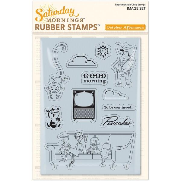 Saturday Mornings StampsImage
