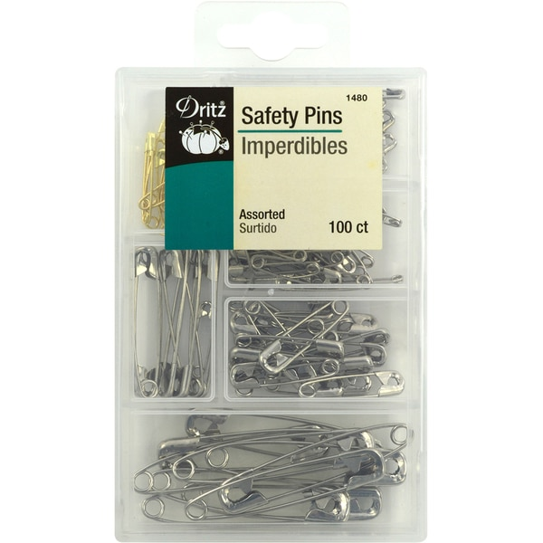 Safety Pins100/Pkg